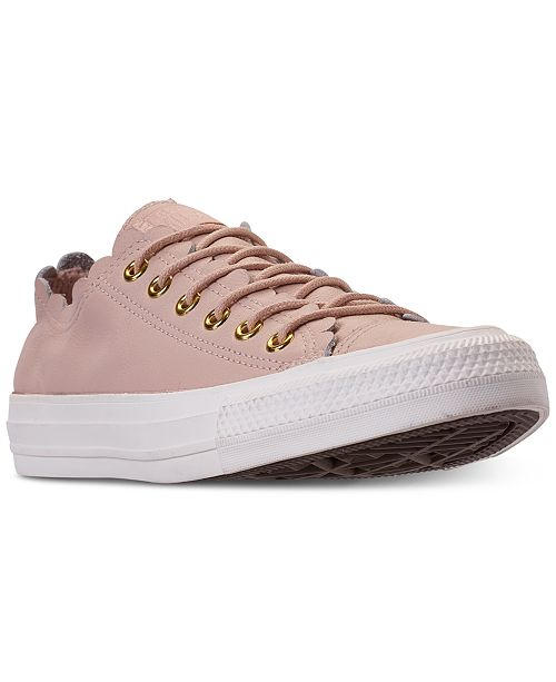 ... Converse Women s Chuck Taylor All Star Low Top Frilly Thrills Casual  Sneakers ... 8717ae842