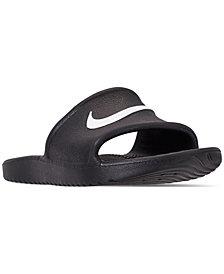 Nike Boys' Kawa Shower Slide Sandals from Finish Line