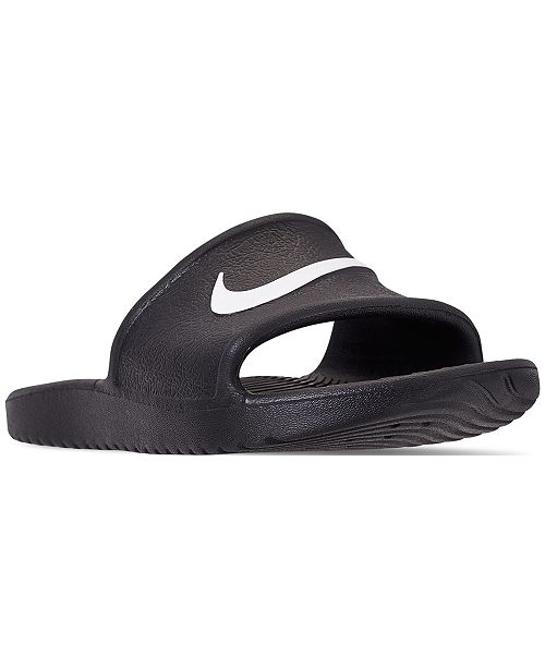 9ff74d5de Nike Boys  Kawa Shower Slide Sandals from Finish Line   Reviews ...