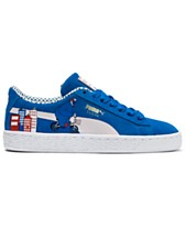 Puma Little Boys  Suede Sesame 50 Casual Sneakers from Finish Line 060c67da1
