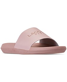 Women's Croco Slide Paris Slide Sandals from Finish Line