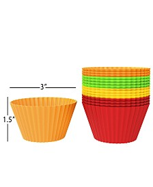 Trademark Global Silicone Baking Cups