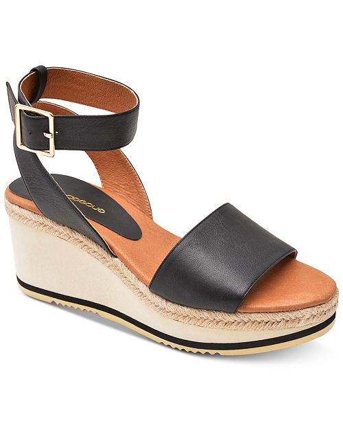 8375a13734f20a Andre Assous Petra Wedge Sandals   Reviews - Sandals   Flip Flops ...