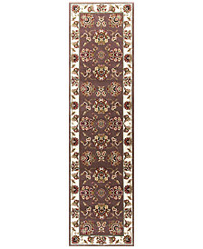 "KAS Cambridge Floral Mahal 2'2"" x 7'11"" Runner Area Rug"
