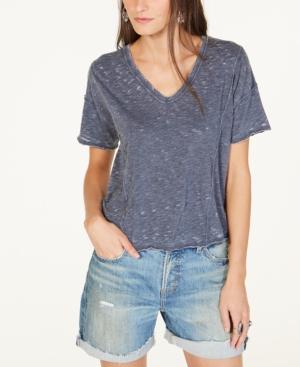 Lucky Brand T-shirts SEAMED BURNOUT T-SHIRT