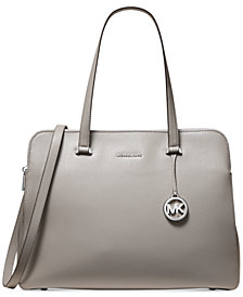 MICHAEL Michael Kors Houston Crossgrain Leather Tote