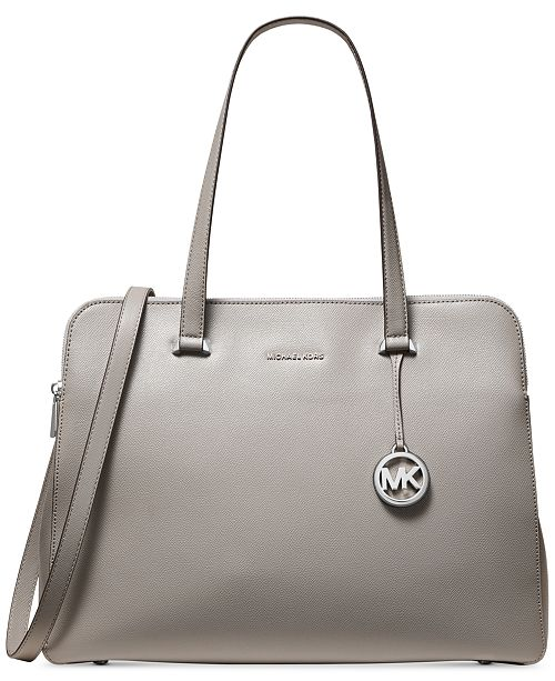 Michael Kors Houston Crossgrain Leather Tote