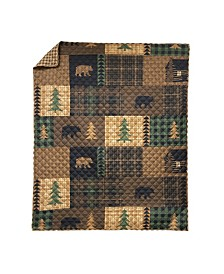 Brown Bear Cabin Quilt Collection, Accessories
