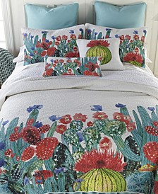 Morning Desert Cotton Quilt Collection, Queen