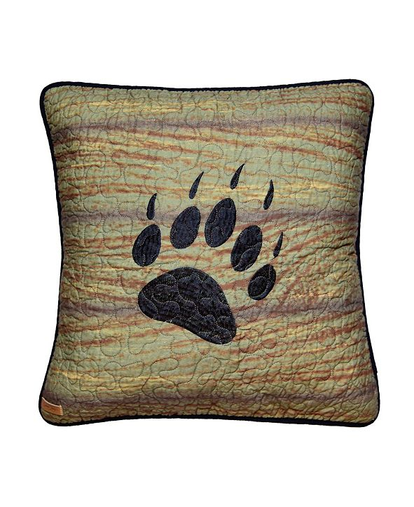 American Heritage Textiles Oakland Paw Decorative Pillow