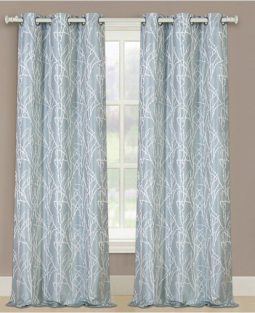 "United Curtain Co Inc Taylor 76"" X 84"" Panel Pair"