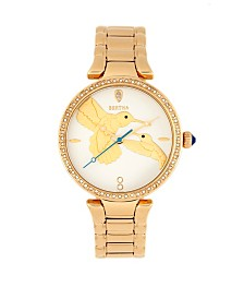 Bertha Quartz Nora Gold Stainless Steel Watch, 38mm