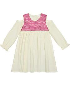 Masala Baby Girls Layla Dress Jacquard