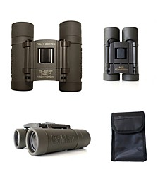 Galileo 8 Power Compact Binocular with 21mm Lenses and Carry Case