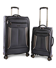 Perry Ellis Viceroy Ii 2-Piece Luggage Set