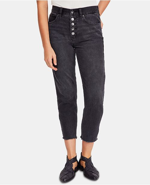 Free People Blossom Rigid Skinny Jeans
