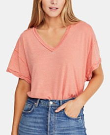 Free People All Mine Open-Back T-Shirt