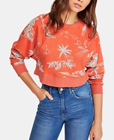 Free People Poppy Pullover Sweatshirt