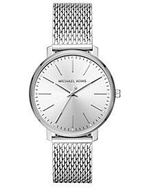 Women's Pyper Stainless Steel Mesh Bracelet Watch 38mm