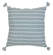 LR Home Flynn Slate Large Floor Pillow