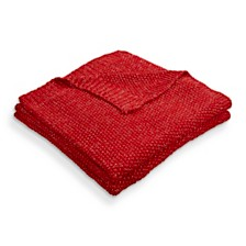 LR Home Sweater Weather Knitted Throw Blanket