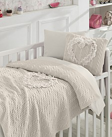 Liebe 6 Piece Crib Bedding Set
