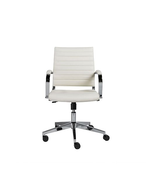 Euro Style Brooklyn Low Back Office Chair