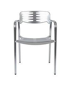 Helen Stacking Arm Chair - Set Of 2