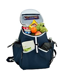 Picnic at Ascot Insulated Backpack Cooler -4 Exterior Pockets, No-Leak Lining
