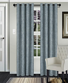 "Superior Waverly Textured Blackout Curtain, Set of 2, 52"" x 96"""