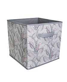 Laura Ashley Storage Cube in Palm Leaf