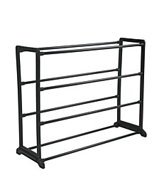 12 Pair Stackable Shoe Rack