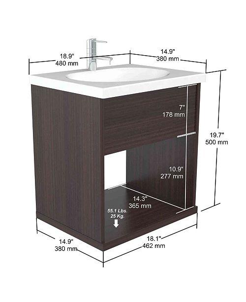 Inval America Modern Bathroom Vanity