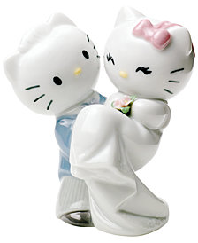 Nao by Lladro Hello Kitty Gets Married Collectible Figurine