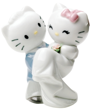 Nao by Lladro Collectible Figurine, Hello Kitty Gets Married