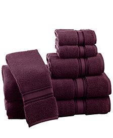 Lezeth Collection 6 Piece Super Soft Zero Twist  Cotton Towel Set