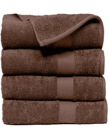 Elegance Spa Luxurious 600 GSM Cotton Bath Towel (4 Pack)