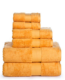 AeroSoft Premium Combed Cotton 700 GSM 6 Piece Towel Set