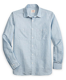 Brooks Brothers Men's Chambray Shirt