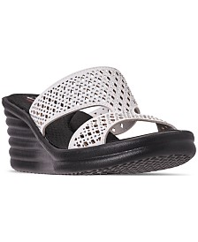 Skechers Women's Rumblers - Wave Ibiza Sandals from Finish Line