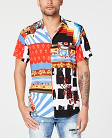 Reason Men's Collision Woven Shirt