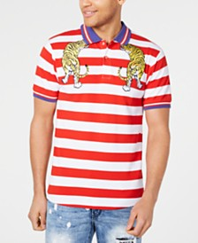Reason Men's Tiger Bay Striped Polo