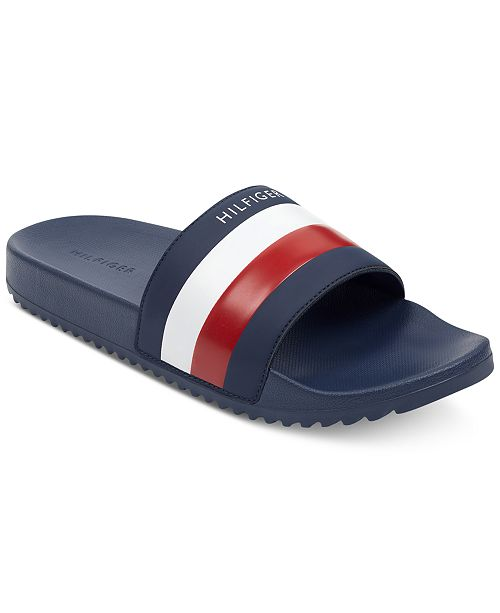 d4a57caf572 Tommy Hilfiger Men s Rox Slide Sandals   Reviews - All Men s Shoes ...
