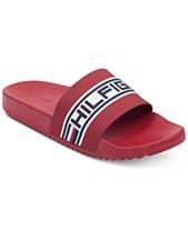4dcef208ed56bd Tommy Hilfiger Mens Sandals   Flip-Flops - Macy s