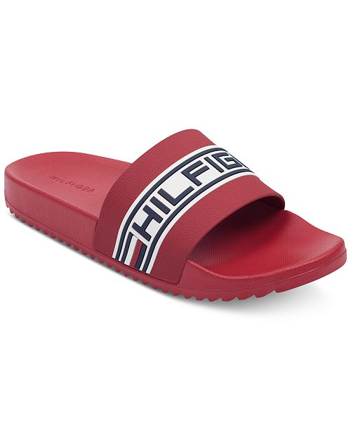 84df2d9b1 Tommy Hilfiger Men s Rustic Slide Sandals   Reviews - All Men s ...