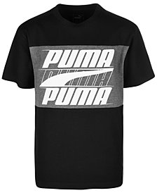 Puma Big Boys Jersey Rebel Graphic Cotton T-Shirt