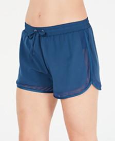 GO by Gossip Drawstring Mesh-Trim Swim Shorts
