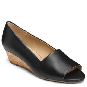 Image of Aerosoles Application Peep Toe Wedges Women's Shoes