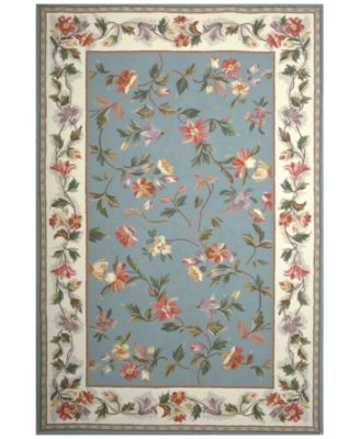 Colonial Floral 2' x 8' Runner Area Rug