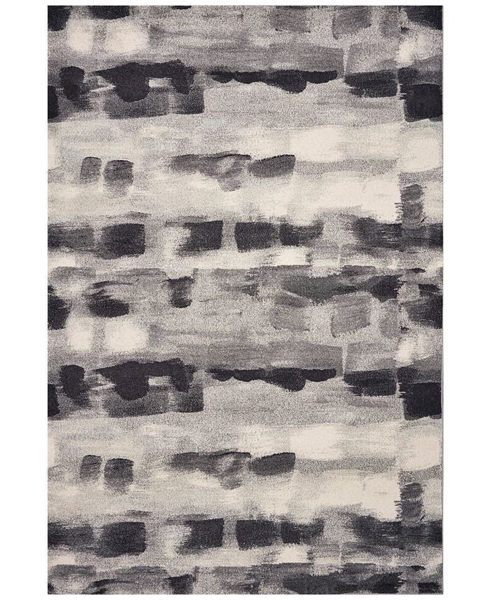 """Kas - Illusions Palette 6214 Gray 7'10"""" x 10'10"""" Area Rug"""
